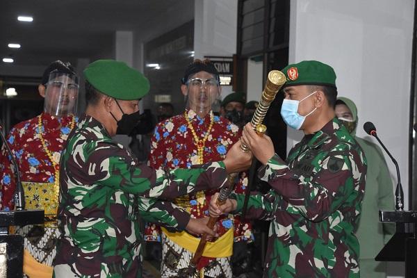 Mayjen TNI Rudianto Resmi Jabat Pangdam IV Diponegoro