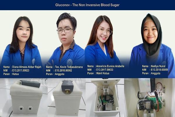 Keren! Mahasiswa Udinus Semarang Ciptakan Alat Canggih Deteksi Diabetes