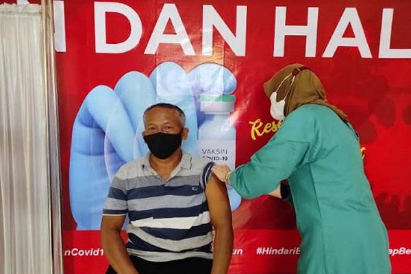 Sudah 6.000 Lansia di Salatiga Disuntik Vaksin Covid-19