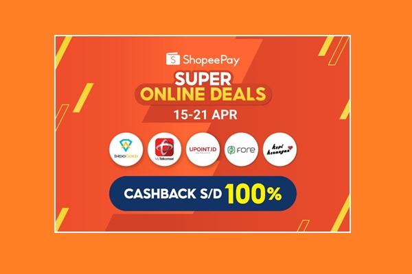 ShopeePay Super Online Deals Meriahkan Aktivitas Puasa dari Rumah