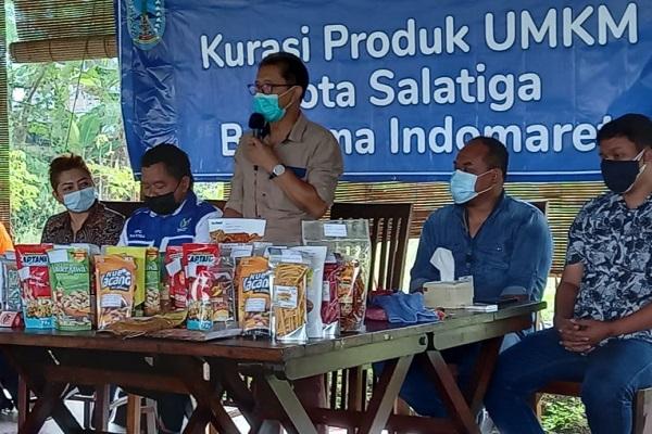 Produk UMKM Salatiga Banjiri Toko Retail Modern