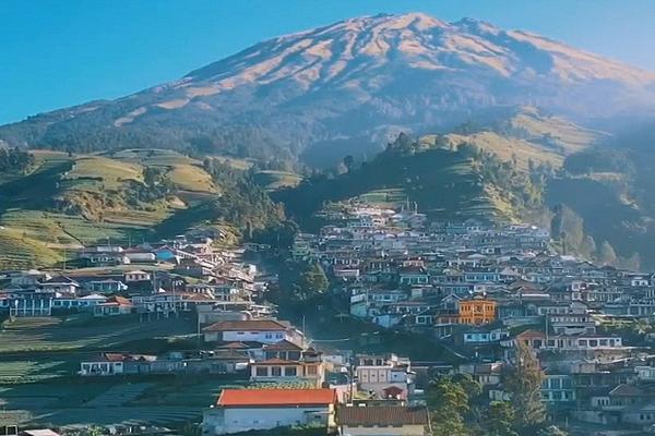 Bulan Puasa, Pendakian Gunung Sumbing Jalur Kaliangkrik Buka