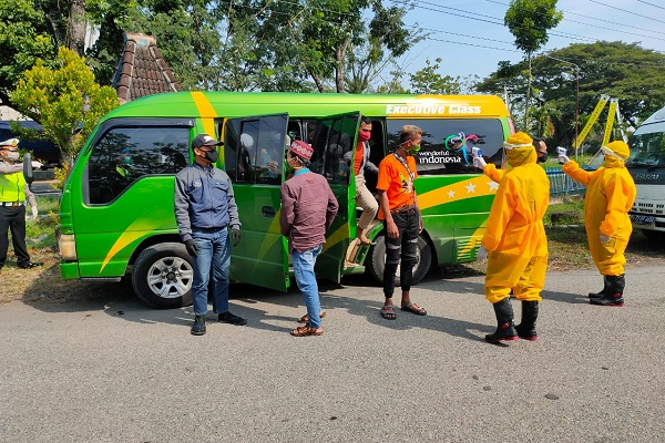 Polda Jateng Antisipasi Travel Gelap saat Larangan Mudik