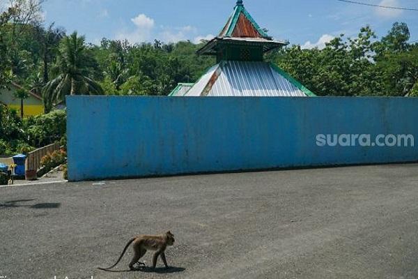 Konon Santri Tidak Mau Salat Bakal Jadi Monyet di Masjid Ini