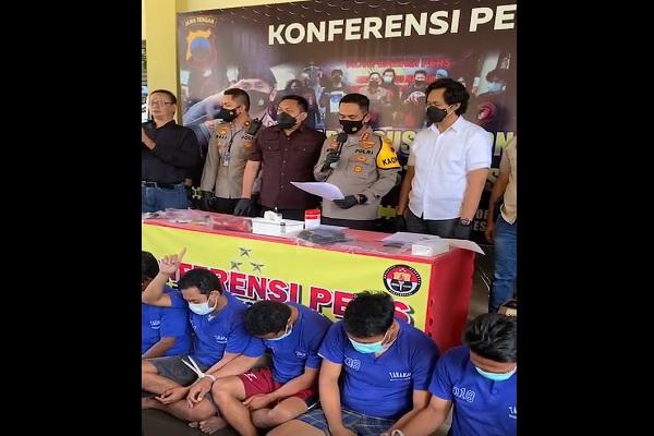 Datang dari Sumatra, Komplotan Pencurian Emas di Semarang Ditangkap di Sragen