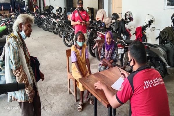 Hari Pertama Puasa, Satpol PP Kota Semarang Jaring 7 PGOT