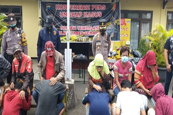 Tawuran Geng, 9 Remaja Semarang Digelandang ke Mapolsek Tembalang