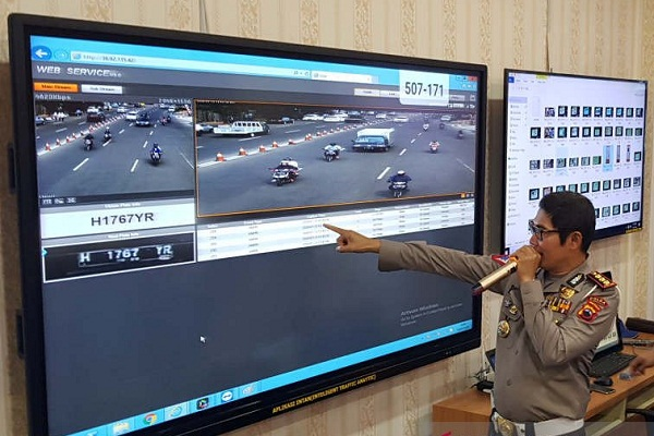 Sudah 10.000 Pelanggar Terekam Kamera ETLE di Jateng
