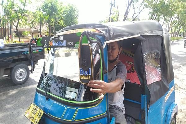 Cerita Didik yang 20 Jam Kendarai Bajaj untuk Mudik dari Jakarta ke Boyolali