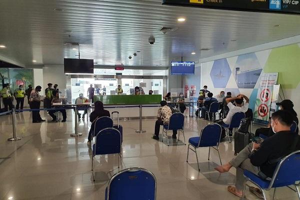 Larangan Mudik, Bandara Ahmad Yani Semarang Layani 996 Penumpang