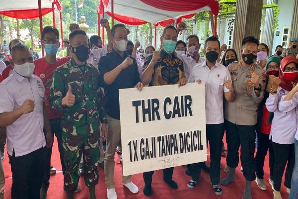 May Day, Buruh di Semarang Dapat Vaksin Covid-19