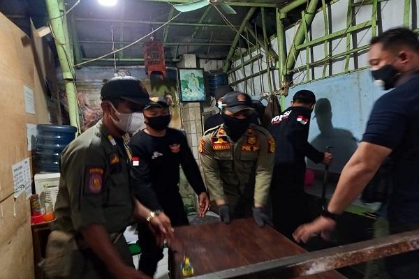 Jelang Lebaran, Satpol PP Kota Semarang Bongkar 5 Tempat Judi Togel