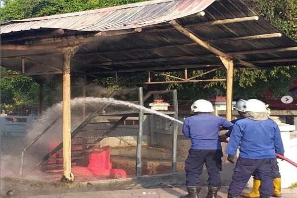 Dilanda Kebakaran, Sam Poo Kong Tetap Buka