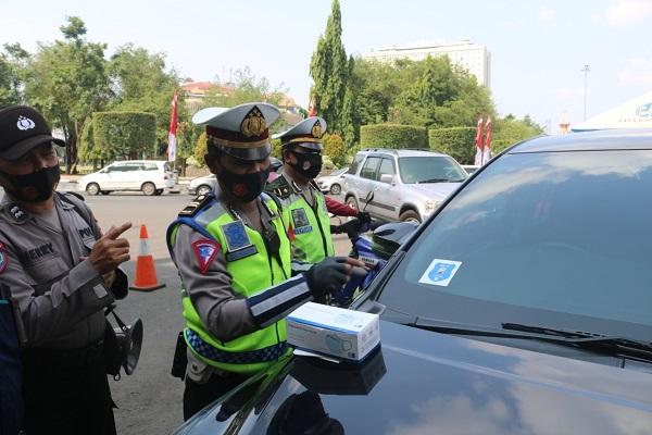 Tak Hanya di Perbatasan, Tes Acak untuk Pemudik Juga Digelar di Simpang Lima Semarang