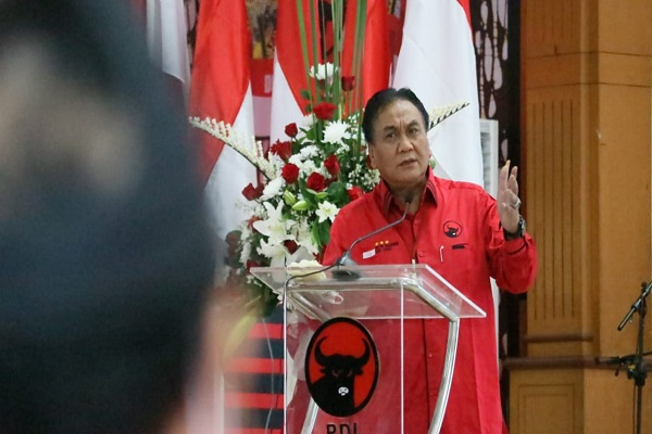PDIP Jateng Gelar Rakerda di Semarang, Utut Beri Pujian