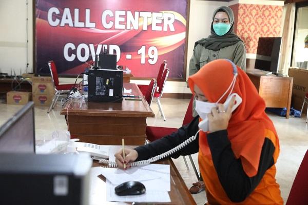 Mau Tanya Seputar Covid-19 di Jateng, Ini Nomor Call Center yang Bisa Dihubungi…