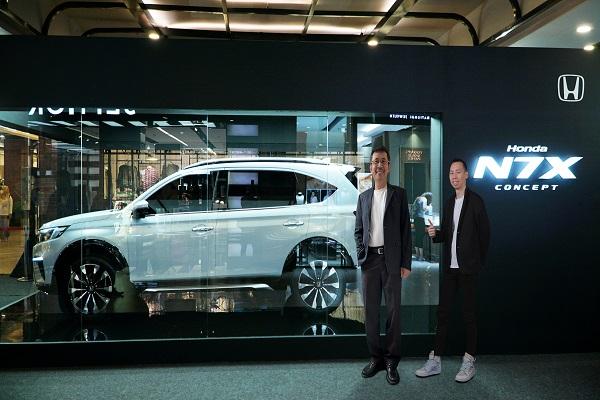 Honda Hadirkan N7X Concept di Semarang, Begini Tampilannya