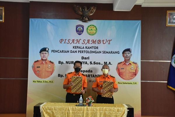Jabatan Kepala Basarnas Semarang Beralih, Heru Suhartanto Gantikan Nur Yahya
