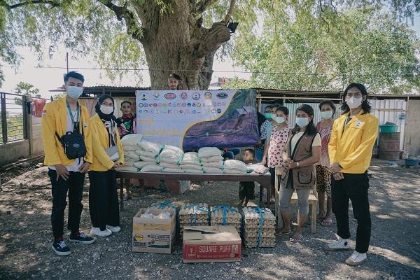 Mahasiswa Untidar Magelang Kirim Bantuan ke NTT