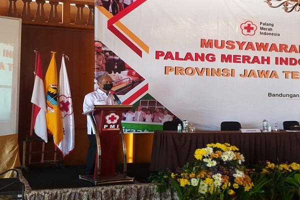 Sah! Sarwa Pramana Jabat Ketua PMI Jateng