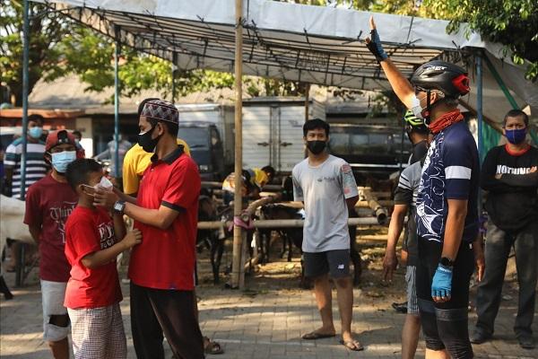 Duh, Masih Banyak Panitia Kurban Iduladha di Semarang Abaikan Prokes