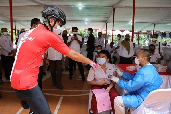 Vaksin Covid-19 untuk Anak di Jateng Dimulai