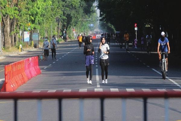 Polda Jateng Tegaskan Penutupan Jalan Bukan untuk Sarana Olahraga