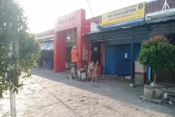 33 Pasar di Kabupaten Semarang Ditutup, Pedagang Pasrah