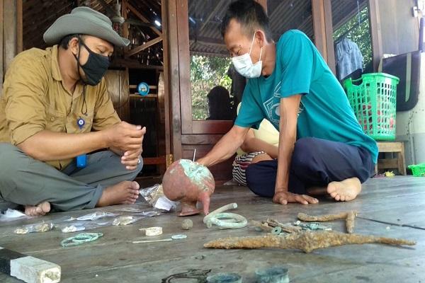 Warga Dusun Borangan Semarang Temukan Benda Arkeologi, Diduga Peninggalan Suku Kalang