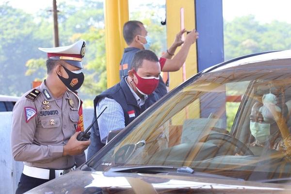Exit Tol Tutup, Volume Kendaraan di Jateng Turun 50%