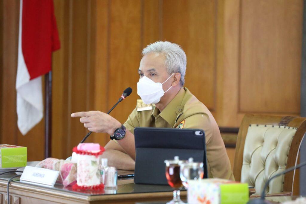 Kasus Covid-19 Jateng Dilaporkan Tertinggi Nasional, Ini Bantahan Gubernur Ganjar