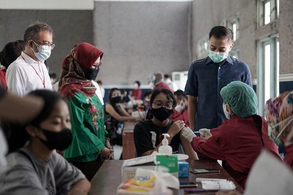 1.300 Anak di Salatiga Terima Vaksin Covid-19