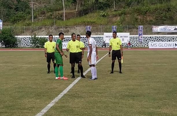 PON Papua, Sepak Bola Putra Jateng Dipaksa Imbang Sumut