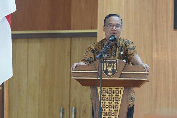 Wali Kota Magelang Nur Aziz Wanti-wanti Kepala OPD Wajib Kuasai Renstra Perangkat Daerah