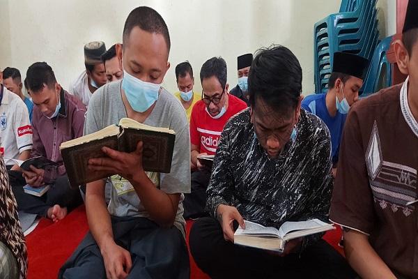 Lapas Tangerang Kebakaran, Napi Rutan Salatiga Doa Bersama