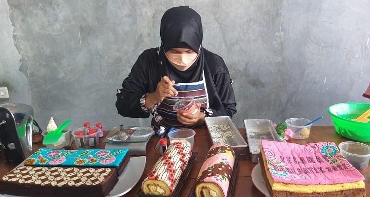Uniknya Brownies Batik Asal Klaten