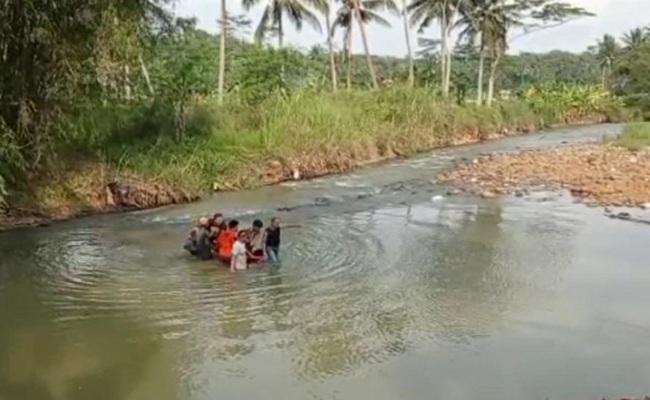 Siswa MTs di Ciamis Tenggelam Ketika Susur Sungai